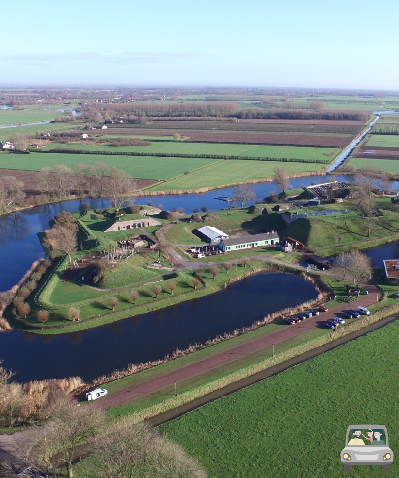 nieuwe hollandse waterlinie route geofort