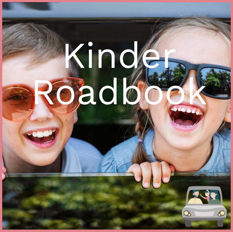 route kinder roadbook autopuzzeltocht